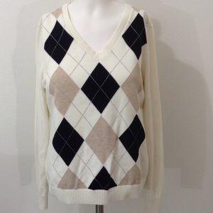 EUC IZOD V-Neck Sweater
